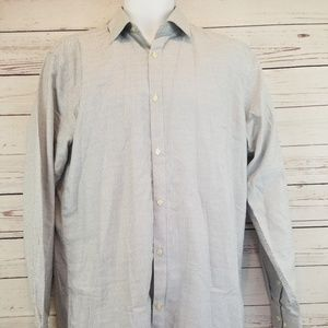 Black label by Ruffini Long Sleeve button up shirt
